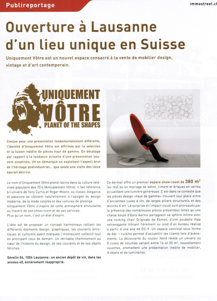 Article dans Immostreet Mag