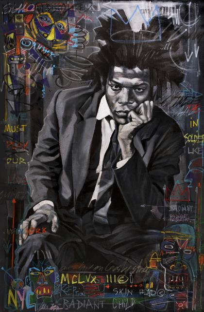 BASQUIAT SUPERHÉROS